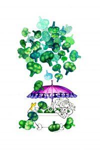 Broccoli Rain